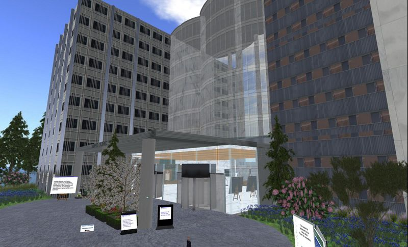 Designing Worlds visits the Mayo Clinic and discovers how healthcare can benefit virtual worlds