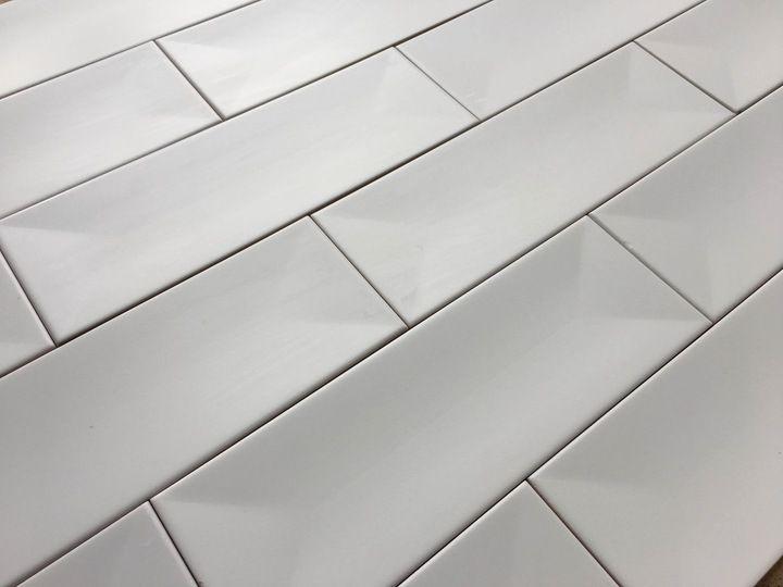 Płytki Kafle Białe 10x30 ścienne Cegiełka Favaro 7096190228