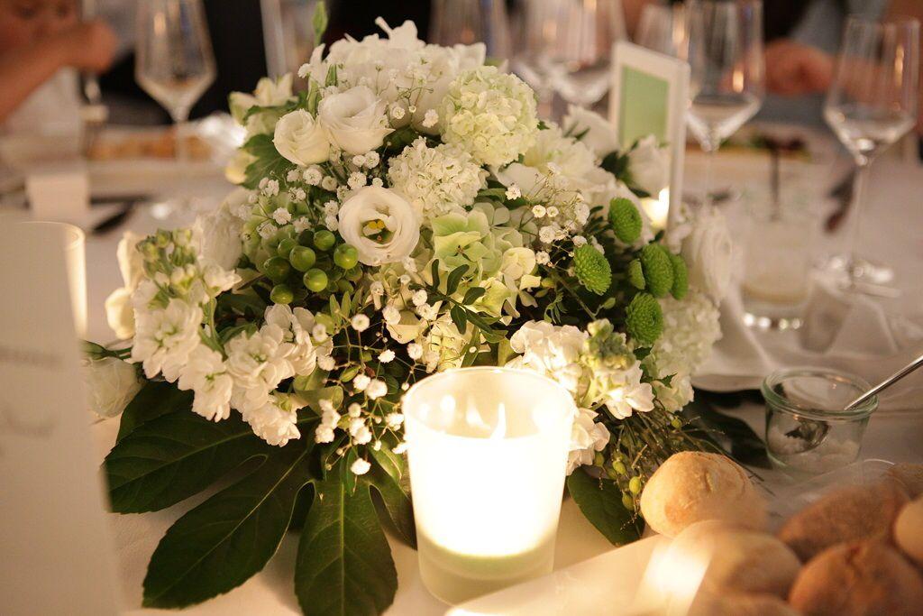 Tischgesteck Tischdekoration Hochzeit Diamantene Hochzeit Hochzeit