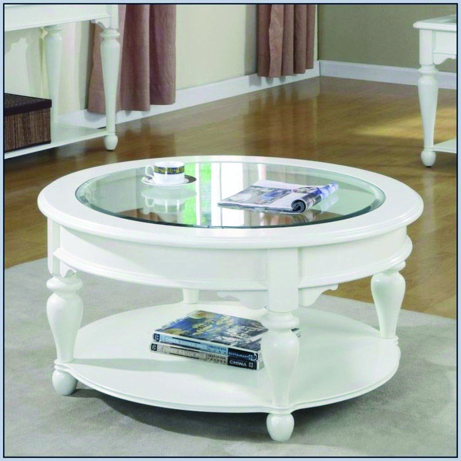 Awesome Coffee Table Ideas White Round Coffee Table Round Glass