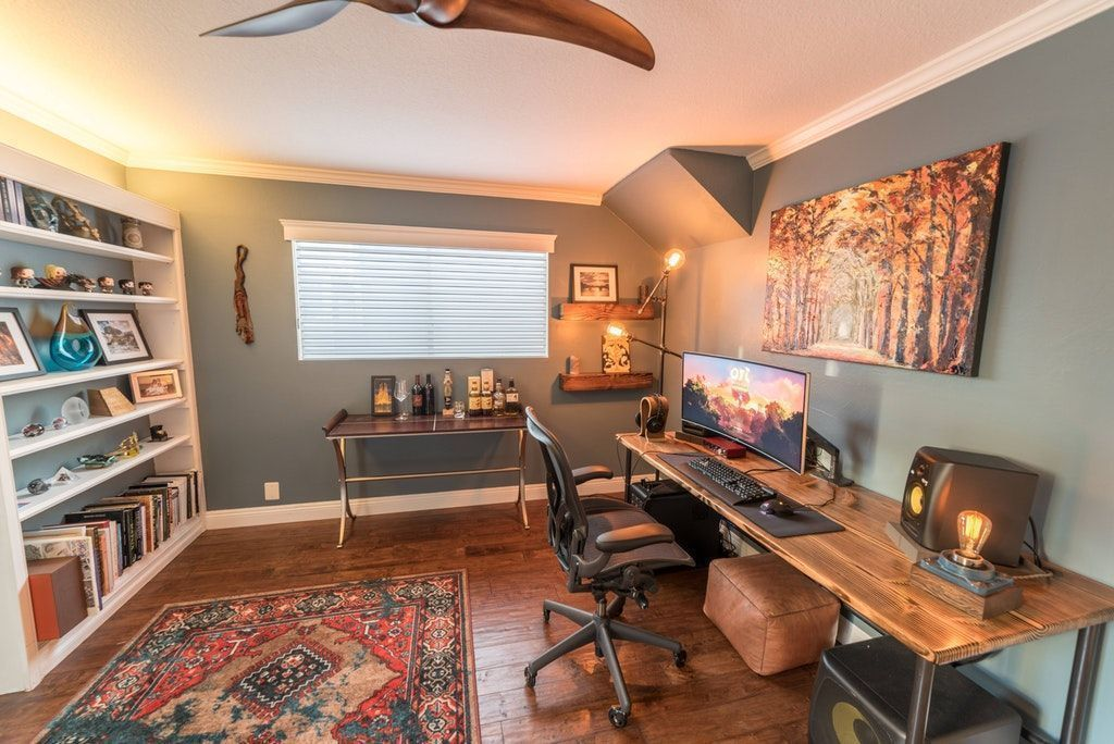 Small Two Person Home Office