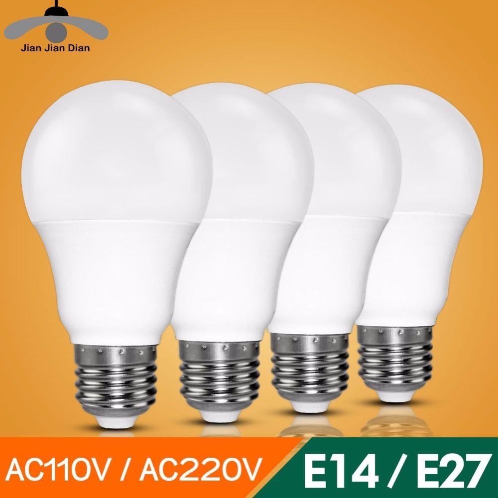 Led Bulb E27 E14 Bombillas Lamp Cfl Ampoule Spotlight Light Lampada Diode 220v 110v Smd 2835 3w 5w 9w Home Decor Energy Saving Price Bombillas Y Led