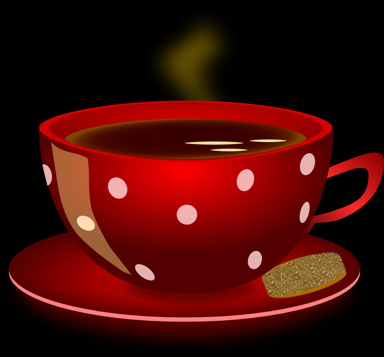 Beautiful Tea Cup Clip Art