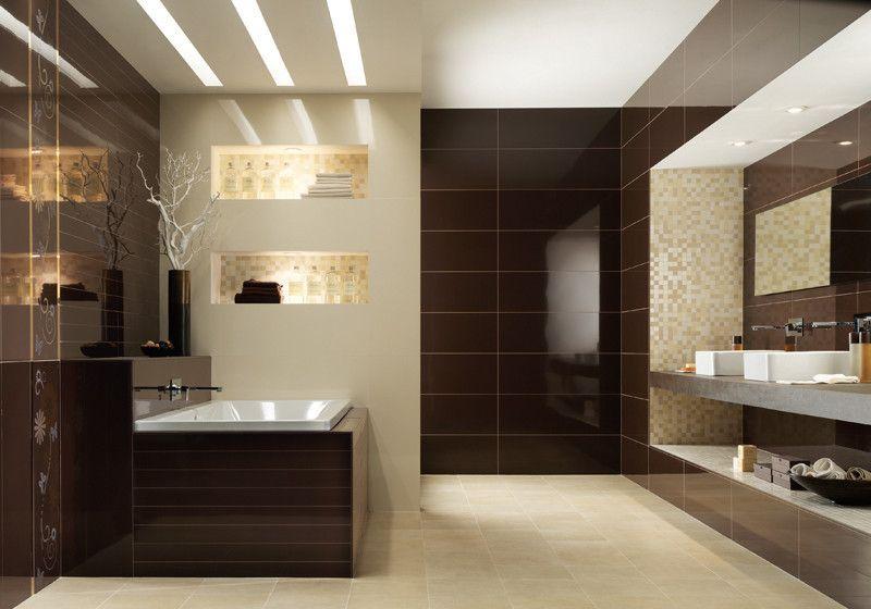 Beautiful Salle De Bain Beige Et Chocolat Gallery - House Design ...