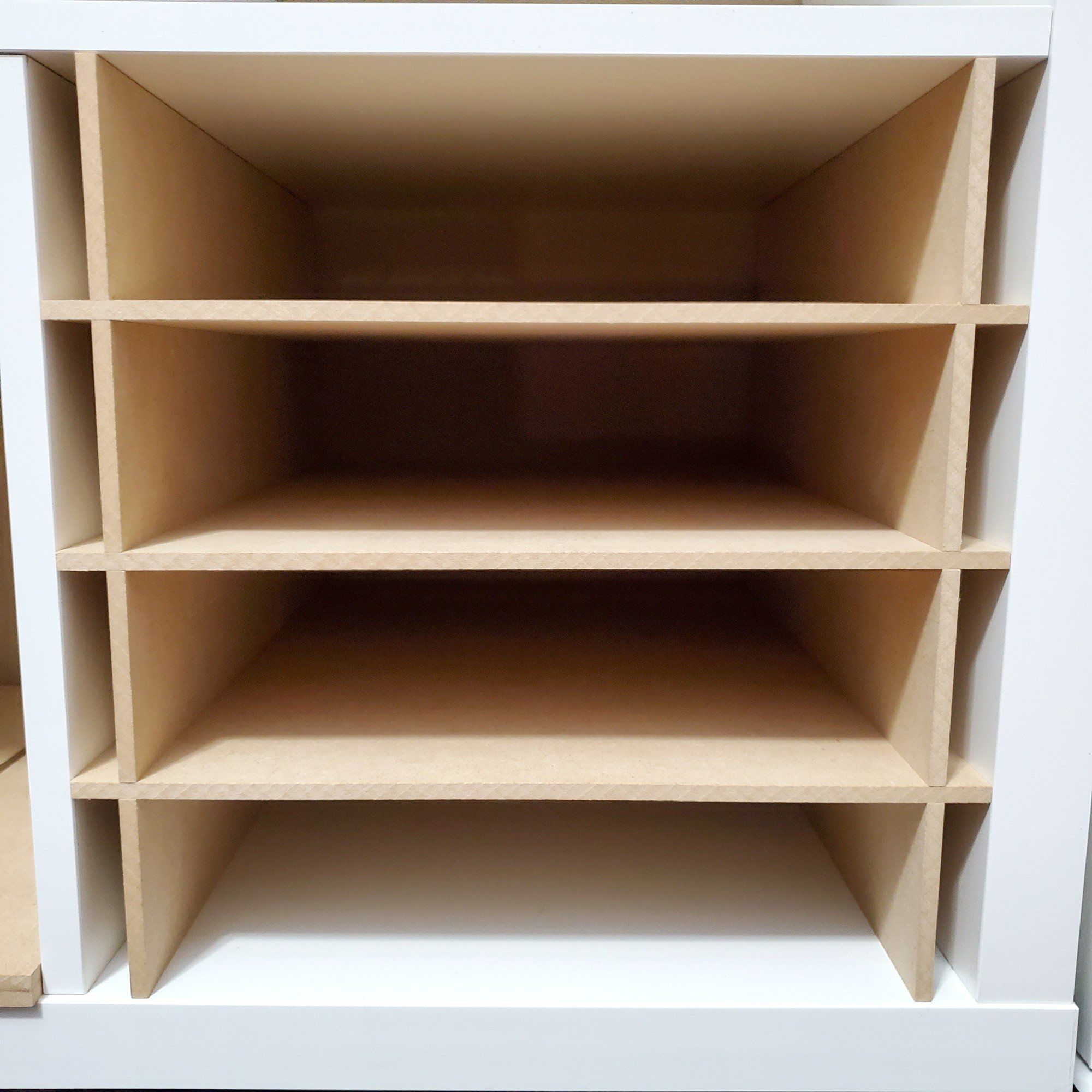 3 7 Cubby Paper Organizer Cube Insert For Cube Storage Shelves Cube Storage Cube Storage Shelves Storage Shelves