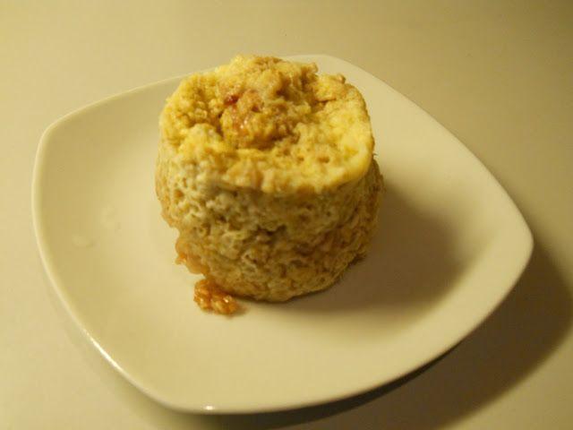 Alice's kager: Havergryns kage med marmelade i mikroovnen