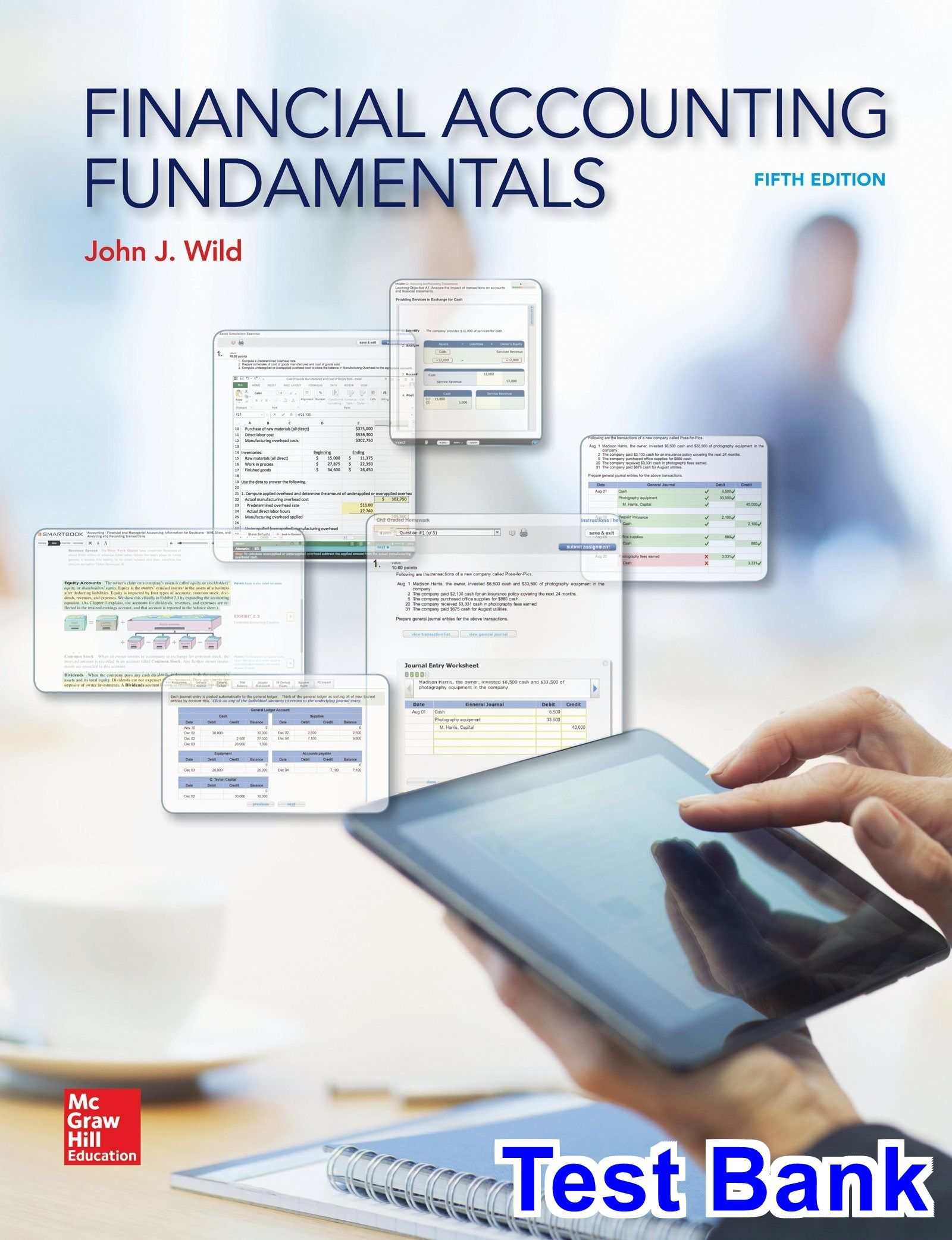 Financial accounting fundamentals 5th edition wild test bank test financial accounting fundamentals 5th edition wild test bank test bank solutions manual exam fandeluxe Images