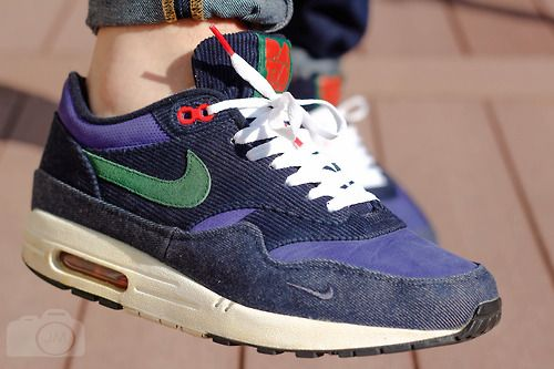 0ead38de28 Patta x Nike Air Max 1 - Blue Denim Corduroy | Clothing and Swagger ...