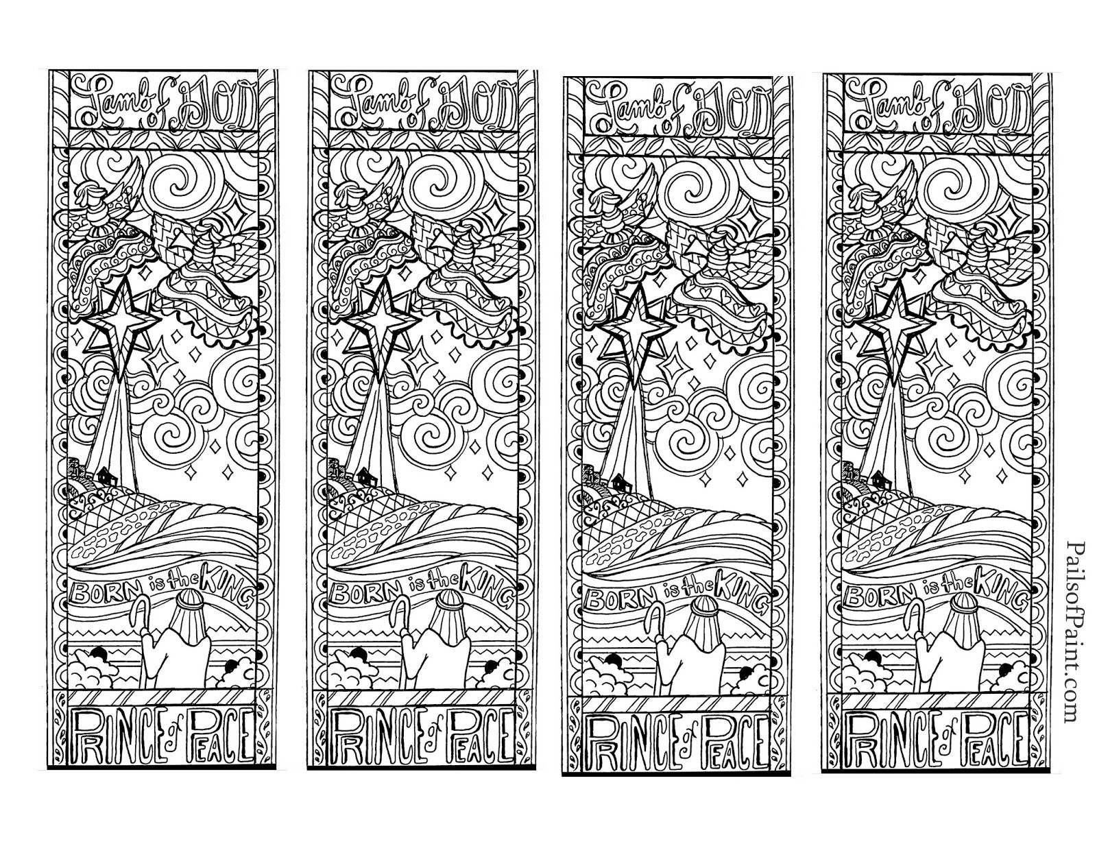 free printable dragon bookmarks to color | TimyKids