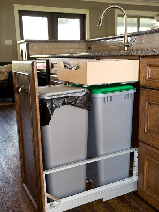 Pull Out Garbage Can Under Sink Dumbfound 14 Best Ideas