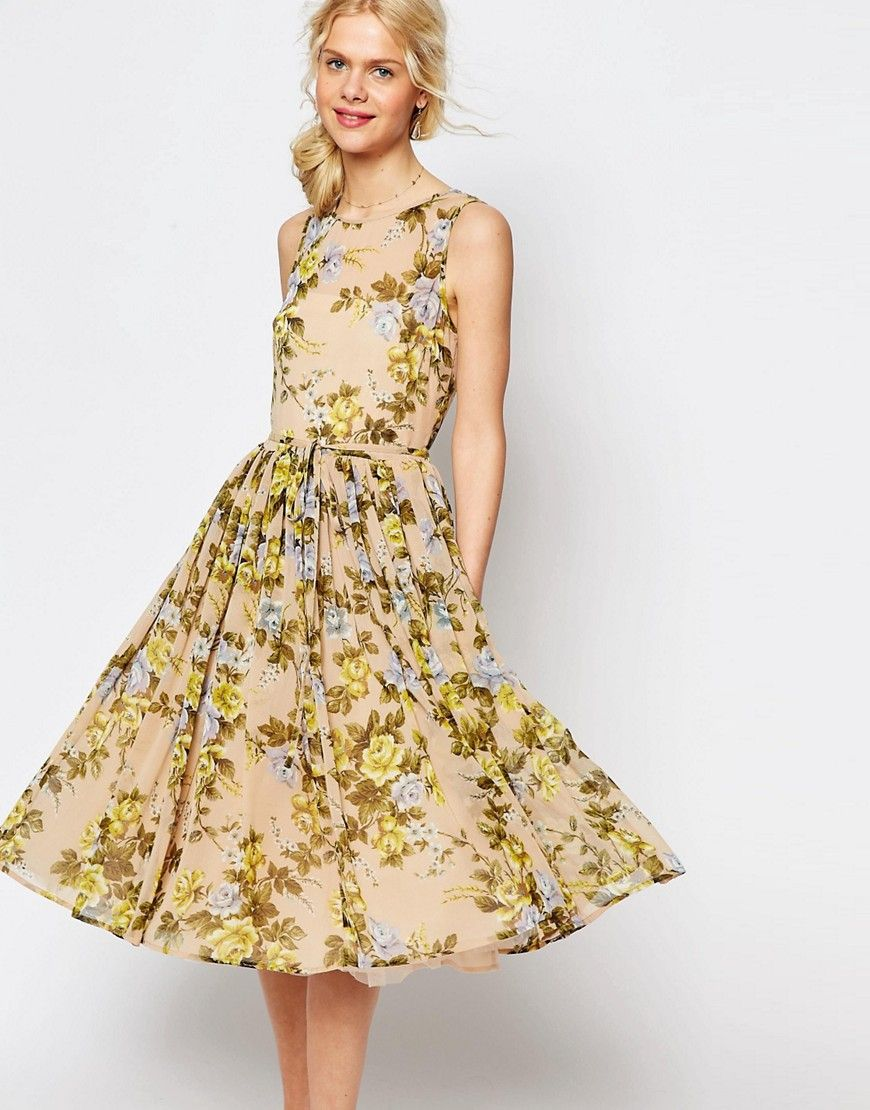 8a4cda19052 ASOS floral prom dress - ShopStyle Collective Floral Prom Dresses