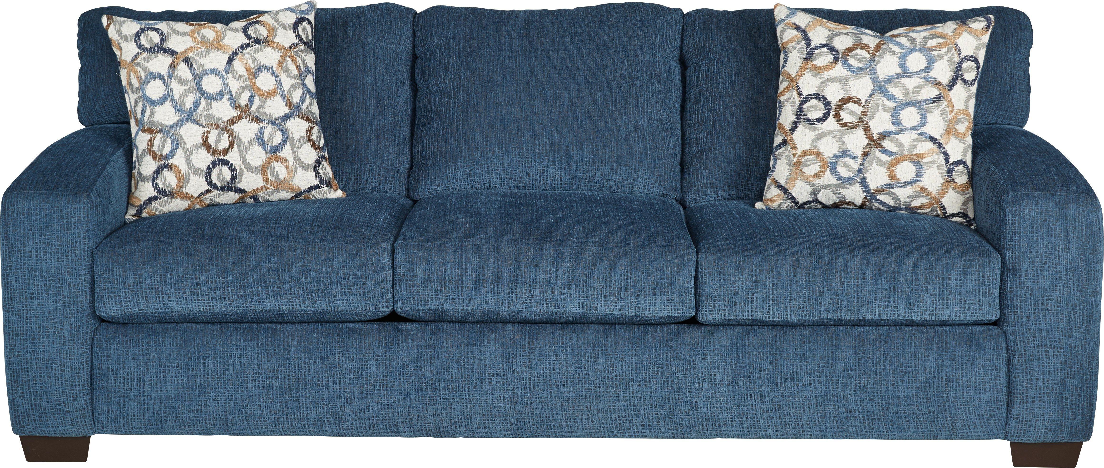 Lucan Navy Sleeper Navy Sofa Blue Sleeper Sofa Blue