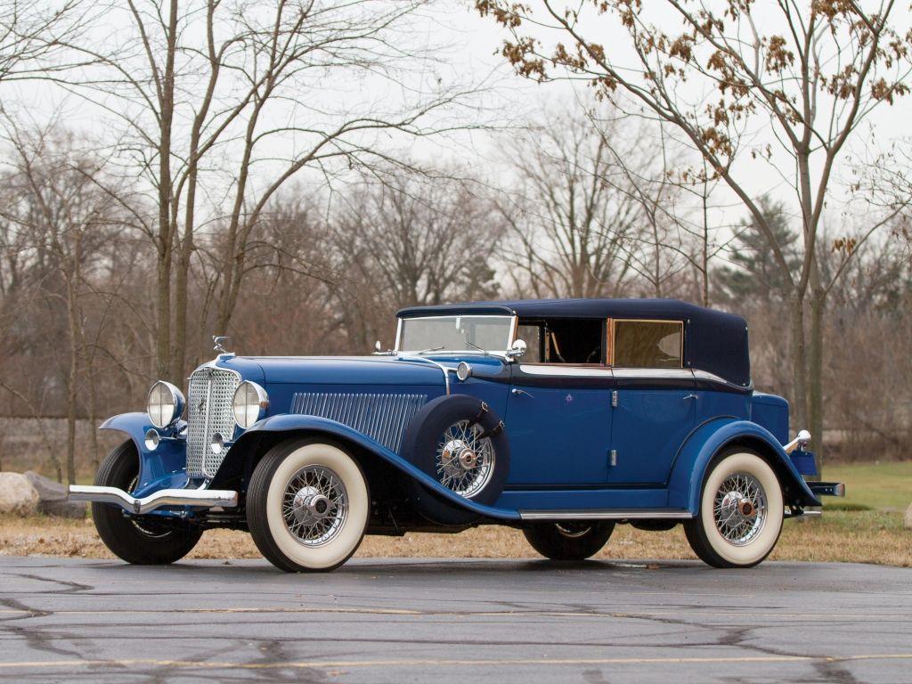 Auburn Custom Dual Ratio Phaeton Sedan Auburn