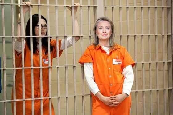 Hillary Clinton in prison | Politics | Pinterest | Clinton n'jie ...