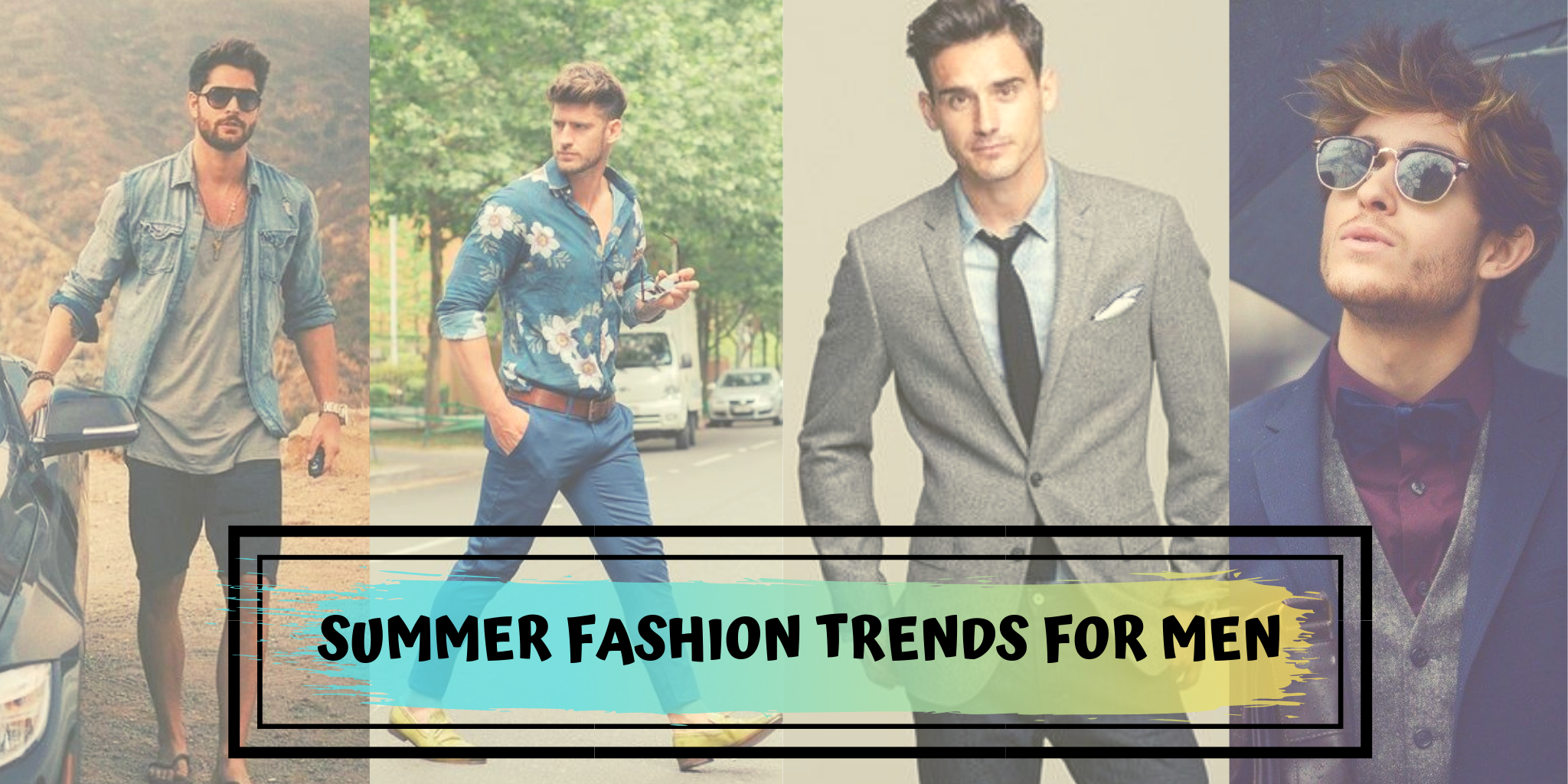 Gone are the days when men used to ignore the #fashion trends and wear those same old regular basics...