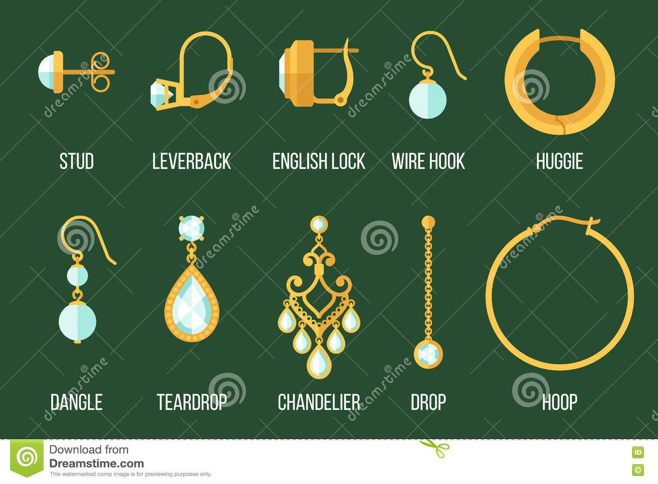 Risultati immagini per earrings closure type | Jewels tools and ...