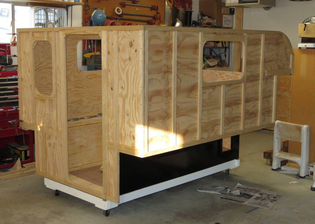Build Your Own Camper Or Trailer Glen L Rv Plans Truck Tent Build A Camper Camper Trailers