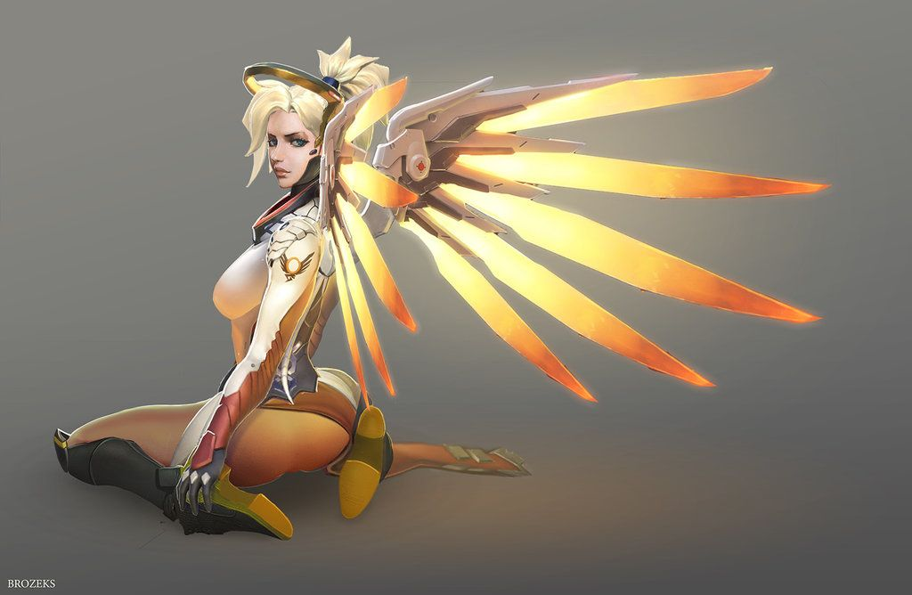Mercy Overwatch by Brozeks.deviantart.com on @DeviantArt ...