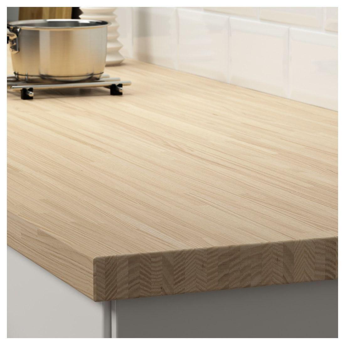 Pinnarp Countertop Ash Ikea Arbeitsplatte Arbeitsflachen Moderne Bodenbelage