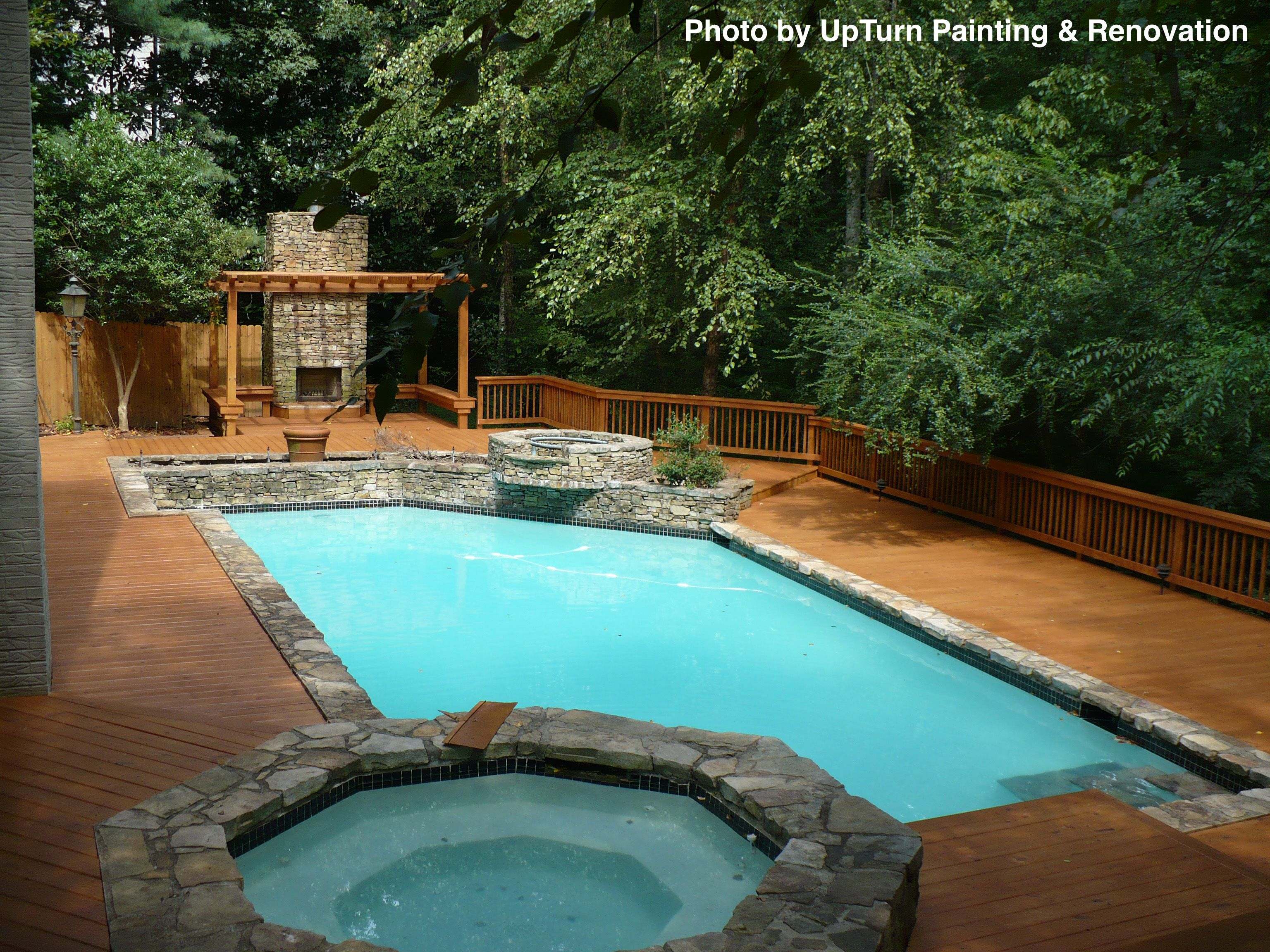 Types Of Swimming Pools Building A Deck Outdoor Living Deck