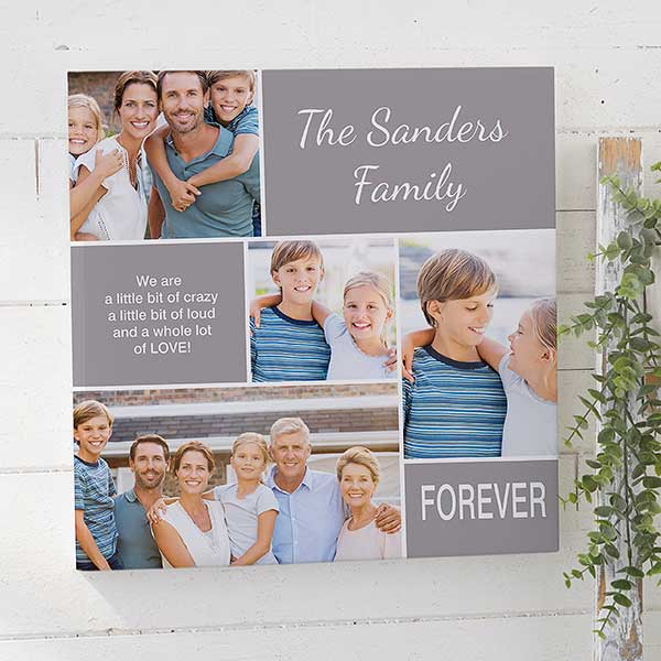 Family Love 24x242 Custom Photo Collage