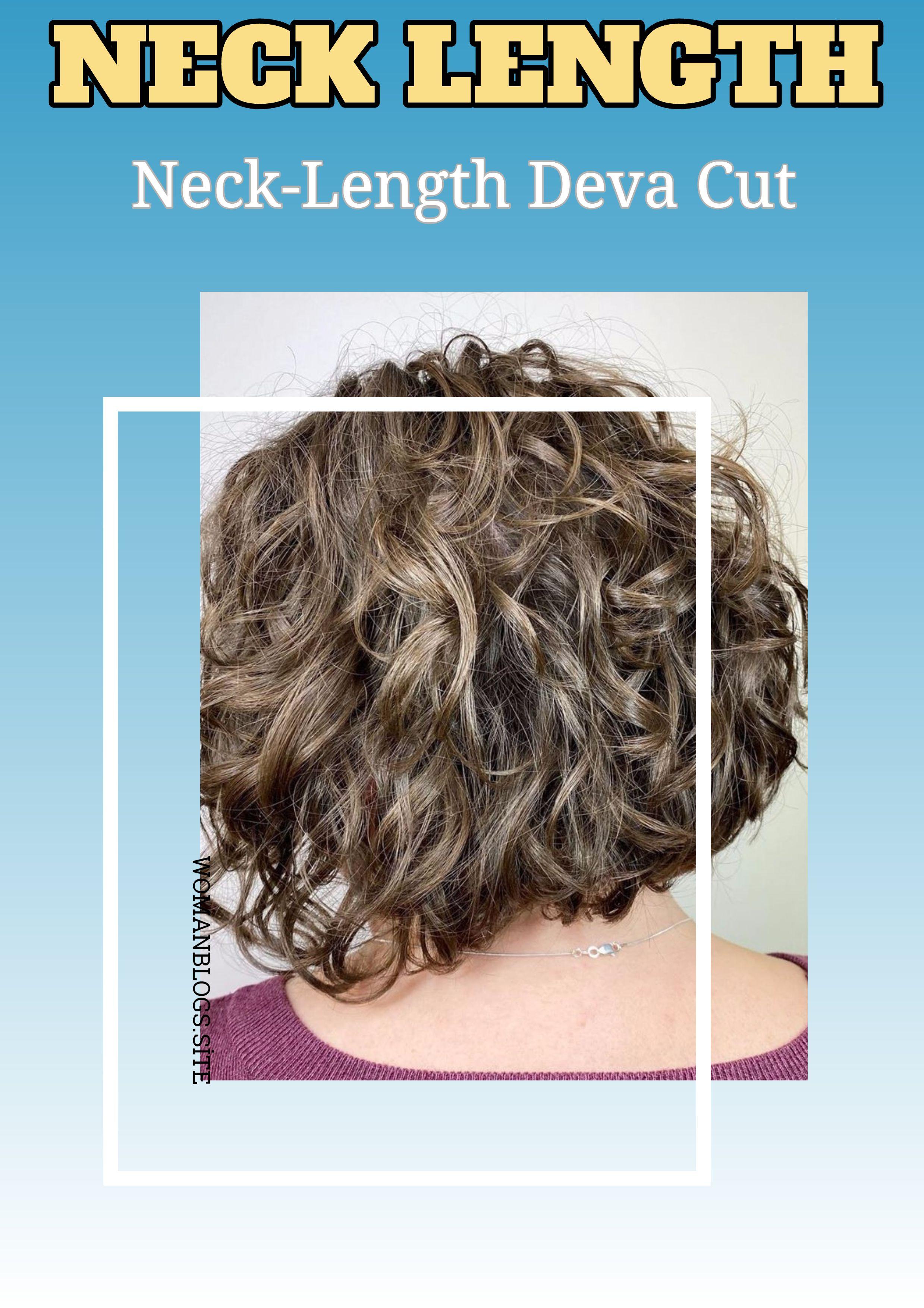 Pin On Neck Length Haircut