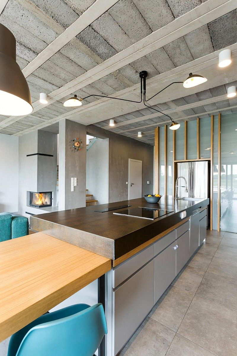 Sieroslaw House By Modelina Architecture Kitchen Interior Kitchen Remodel House