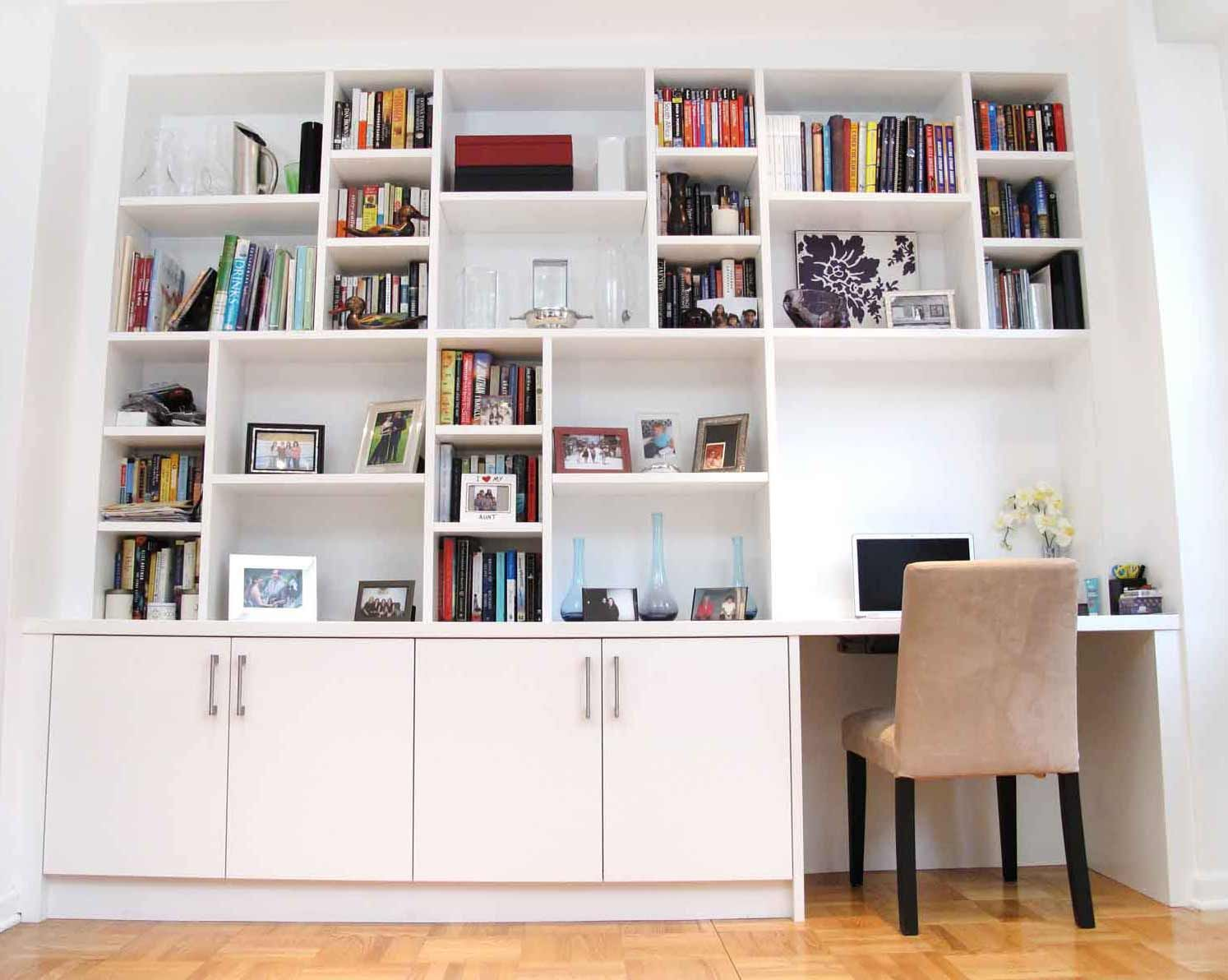 Custom Home Offices Nyc Design Desks Library Furniture Urban Homecraft