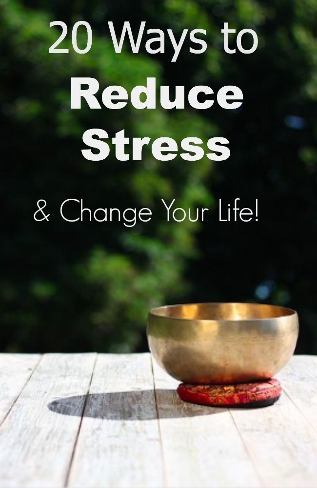 Top 20 Ways to Eliminate Stress   Relieve Stress   How to ...