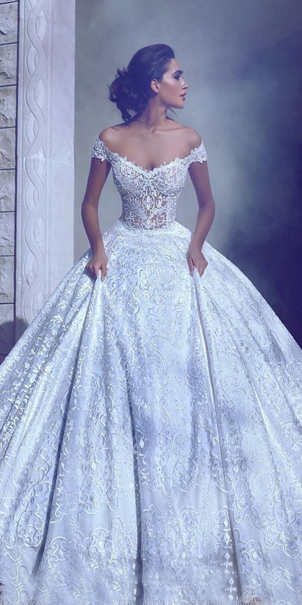 21 Top Wedding Dresses 2018 Ball Gown A Line Wedding Dresses
