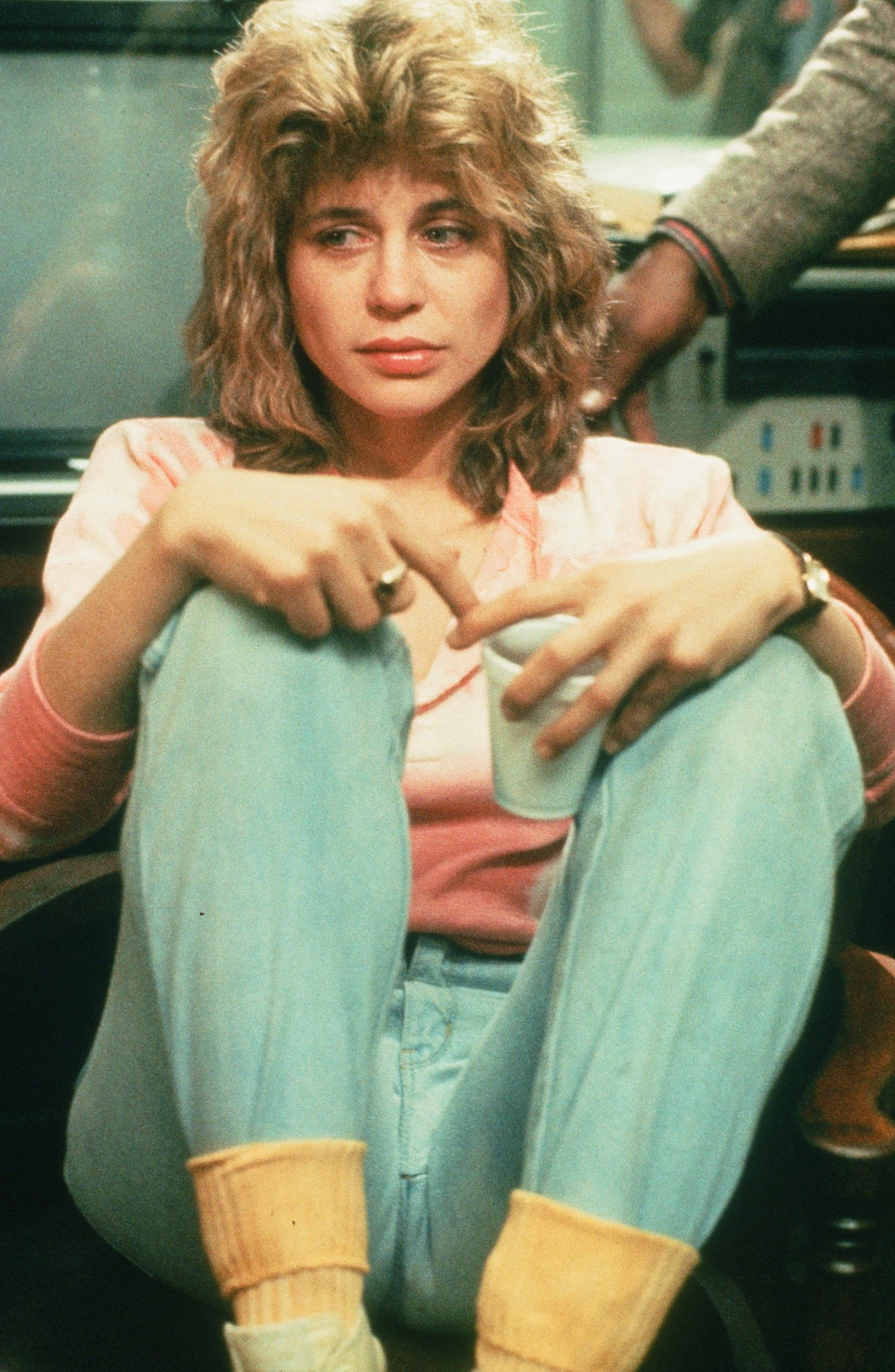 The Terminator (1984) Linda Hamilton as Sarah Connor in