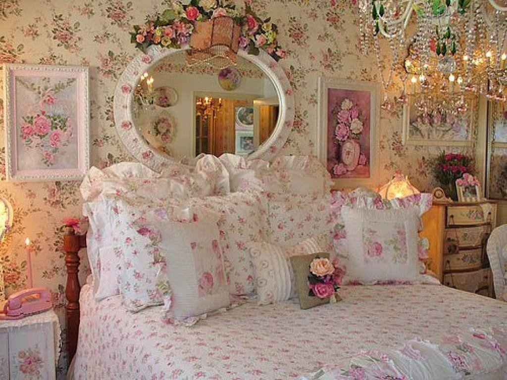 Shabby Chic Sinfon A En Rojo Romantic Victorian Pinterest