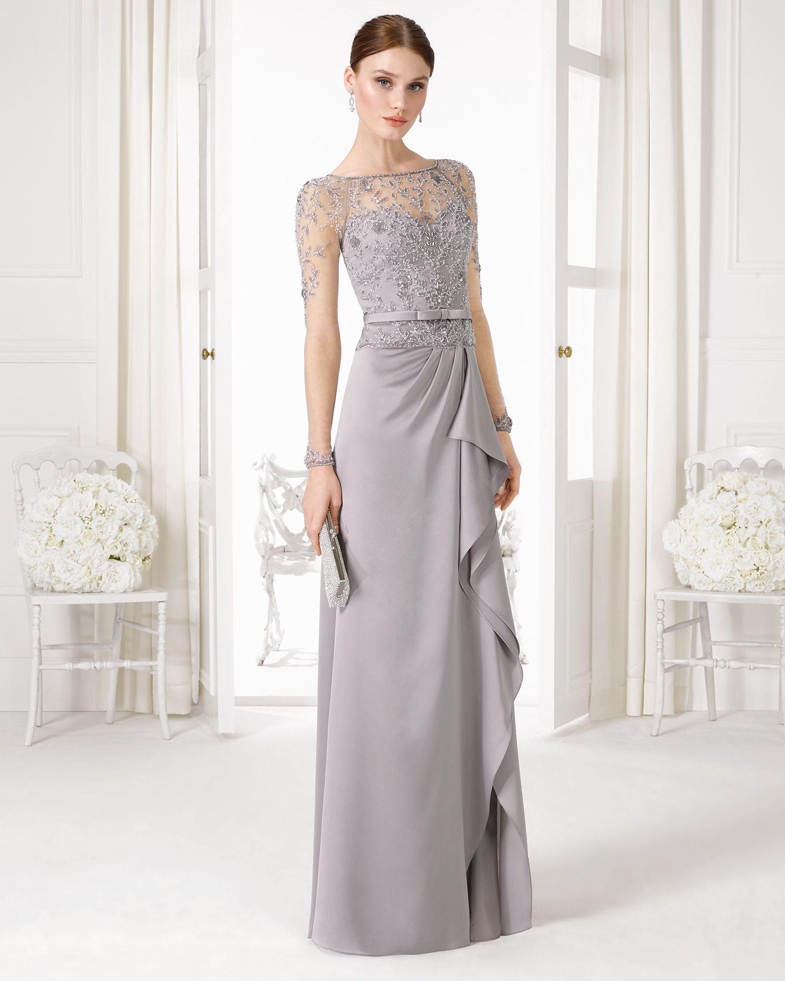 Vestidos matrimonio noche 2016