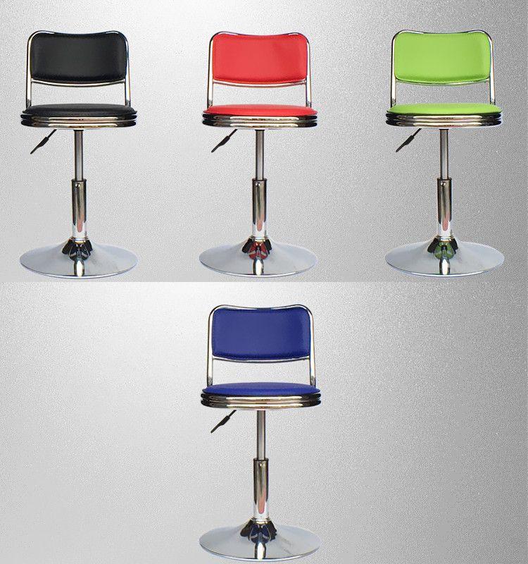 Massage Hocker Friseur Salon Stuhl Bäckerei Gebäck Stuhl einzelhandel großhandel schwarz blau rot grün