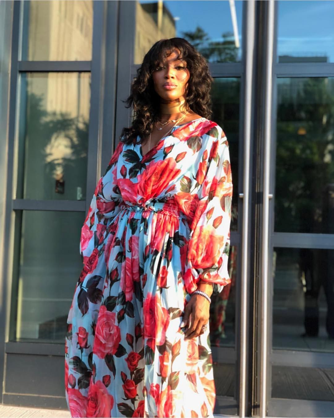 Naomi Campbell Blossoms With Beauty In This Dolce&Gabbana
