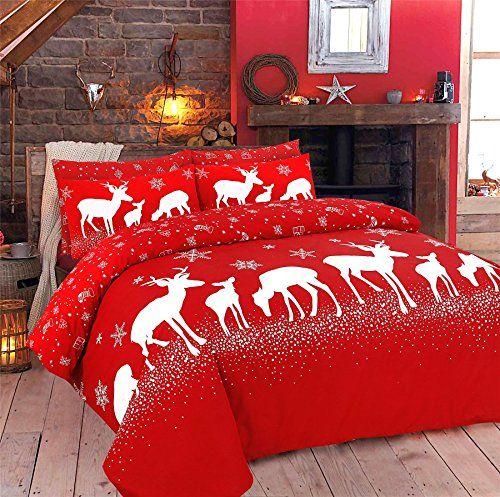 christmas bedroom quilt - Rimi Hanger Christine And December Print
