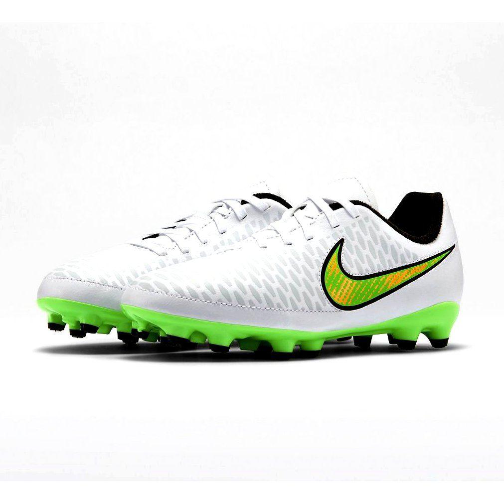 Buty Pilkarskie Nike Magista Onda Fg Jr 651653 130 Biale Biale Football Shoes Junior Shoes Nike