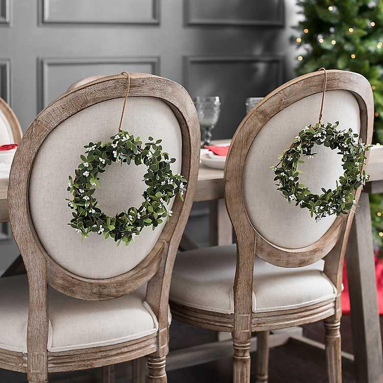 Cream Berries Mini Wreaths Set Of 2 Mini Wreaths Christmas Decorations Christmas Floral