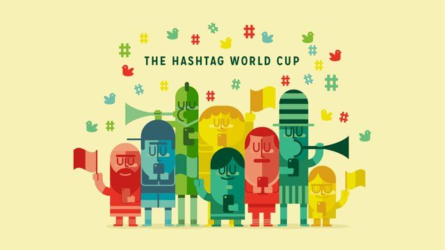 Case video about a second-screen experience that would use Twitter hashtags to decide the social winner of the 2014 World Cup.  Illustration. Juan Leguizamon. Motion Graphics. Rafatoon.