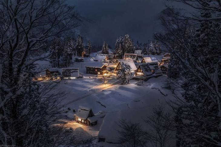 Снежная сказка: невероятно красивая зима в Японии | Зимние ...