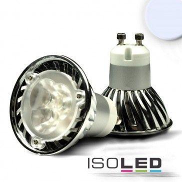GU10 LED Strahler 3x1 Watt, Style 2, kaltweiss / LED24-LED Shop