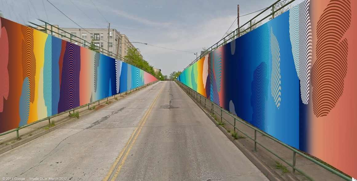 Living Walls Mural Boulevard Tunnel