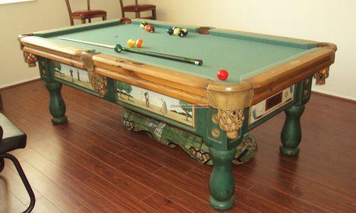 Superbe 7 Foot Used Pool Table