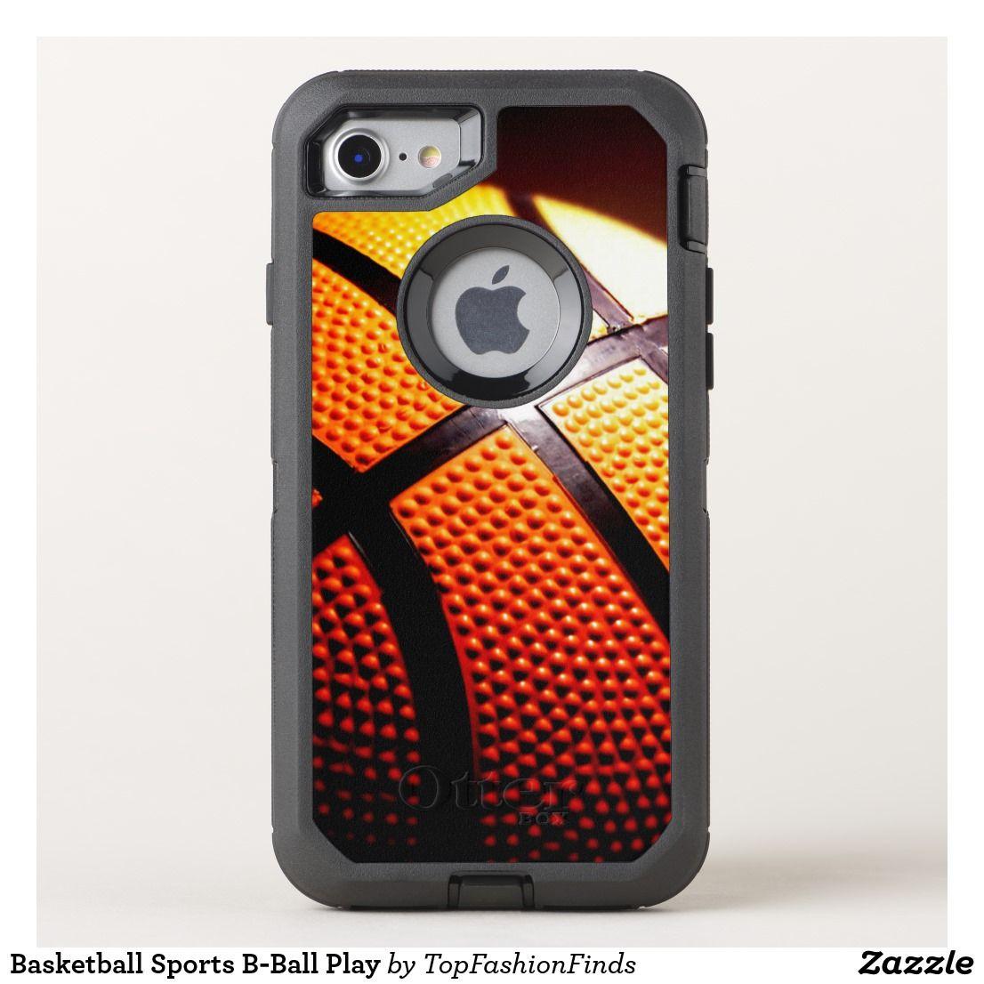 reputable site b11bd 78bac Basketball Sports B-Ball Play OtterBox iPhone Case | Zazzle.com ...