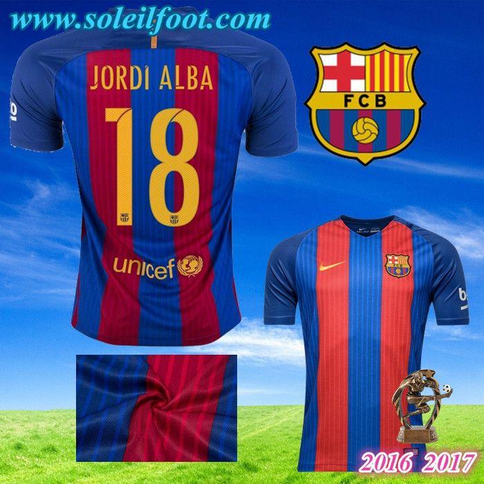 Maillot Extérieur FC Barcelona Jordi Alba