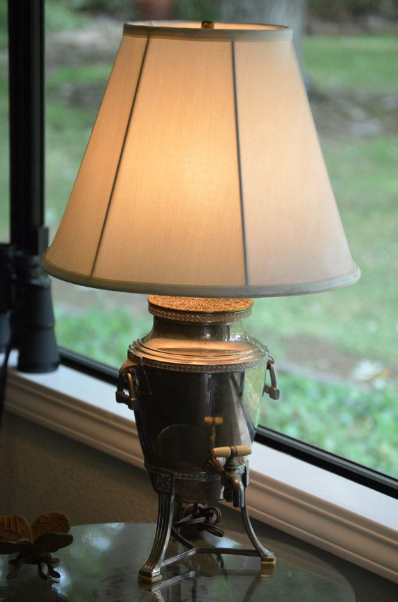 Upcycled 1920s Coffee Urn Lamp By Catkinscreations On Etsy 67 98