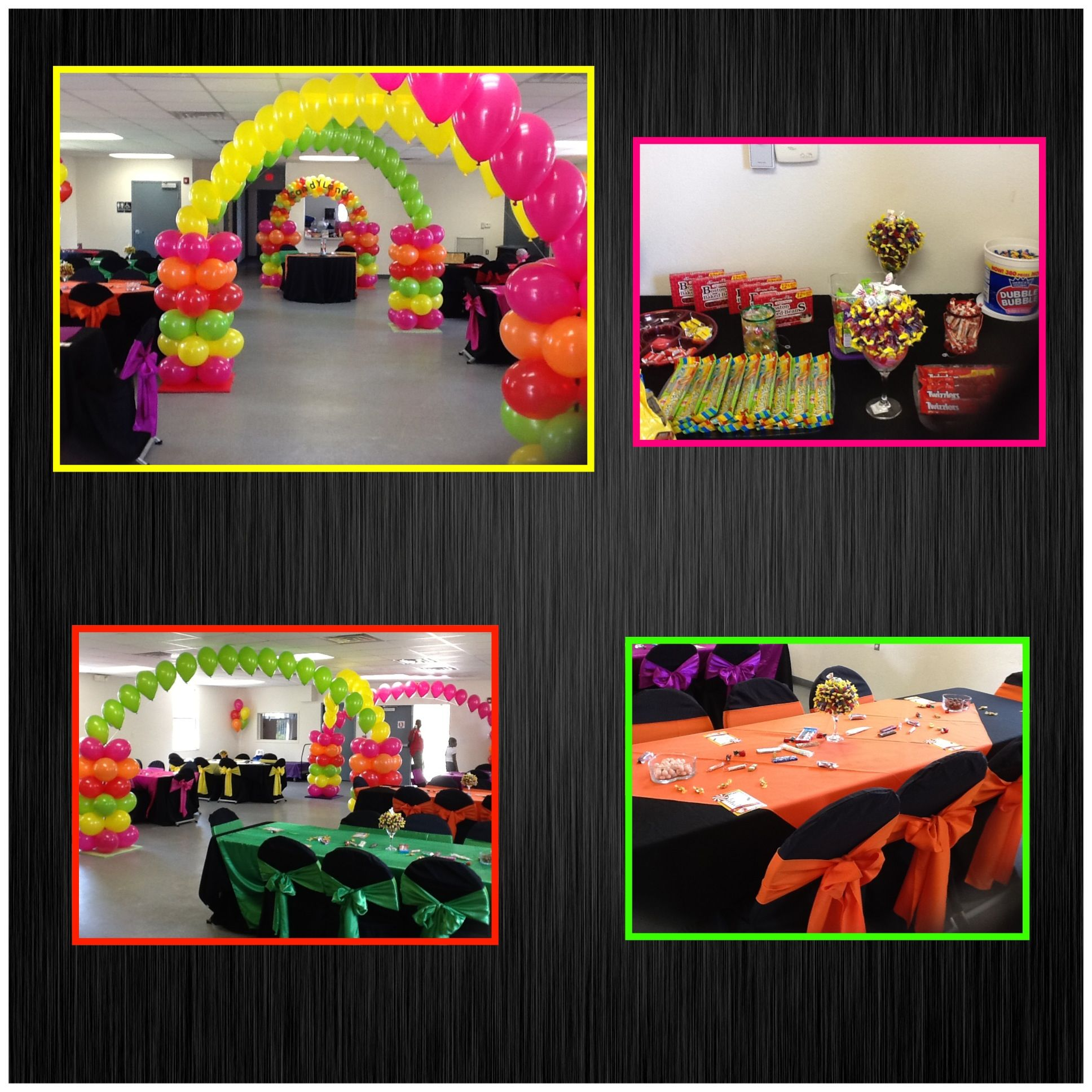 CandyLand Theme Baby Shower | Baby Showers By: Teasha ...