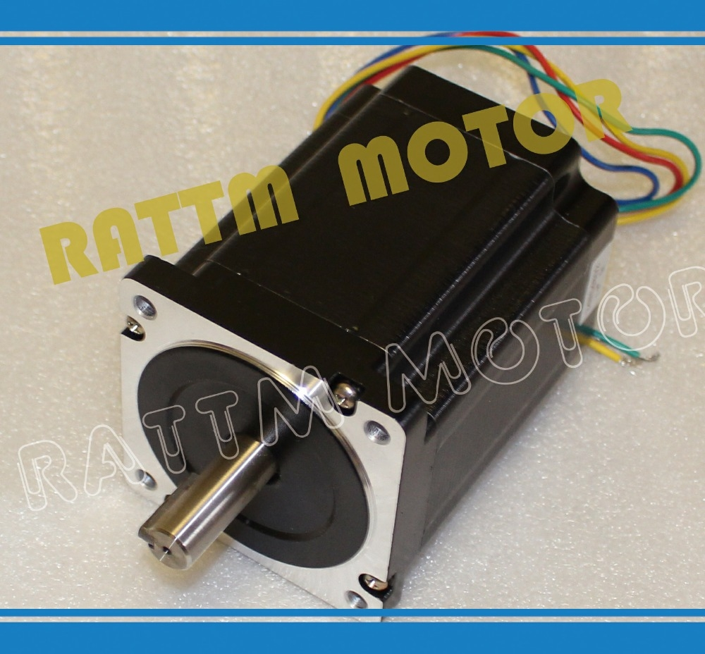 51.09$  Buy here - http://ali8bv.shopchina.info/go.php?t=1528275117 - Nema 34 stepper motor 5.0A / 1230oz-in Stepper Motor/116mm for CNC Router/Engravin/milling Machine  #buyonline
