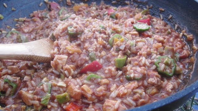 Chef Tess Bakeresse: Food Saver Vacuum Packing Meals in a Jar Tutorial and New Louisiana Chicken Gumbo Recipe