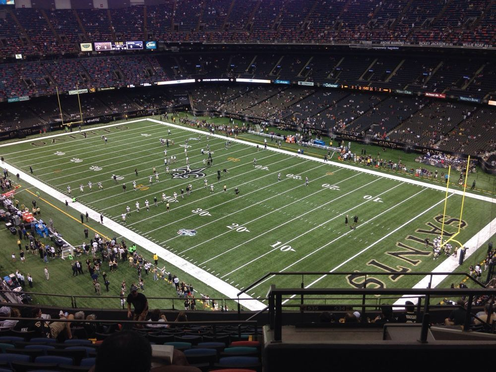 3 NEW ORLEANS SAINTS VS. CAROLINA PANTHERS TICKETS 3 SEATS  supplier